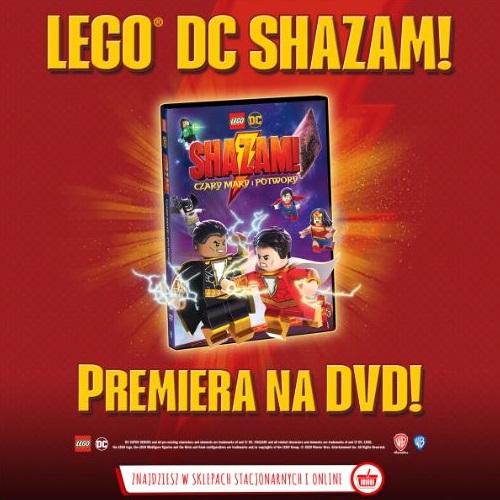 LEGO DC: Shazam! Czary mary i potwory konkurs