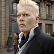 Johnny Depp - galeria zdjęć - Zdjęcie nr. 1 z filmu: Fantastyczne zwierzęta: Zbrodnie Grindelwalda