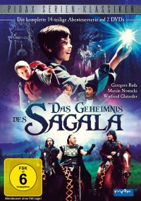 Tajemnica Sagali (1996) plakat