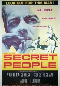 Tajemniczy ludzie (1952) plakat