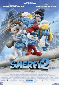 Smerfy 2 (2013) plakat