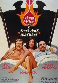 Dona Flor i jej dwóch mężów (1976) plakat