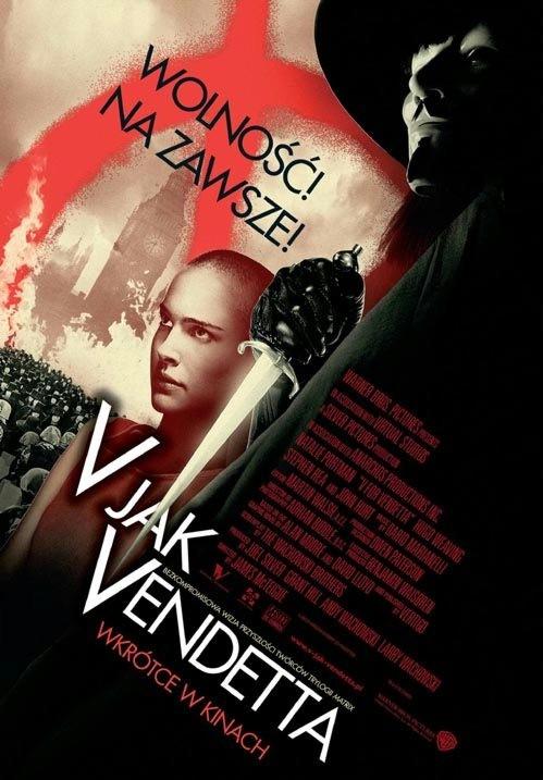V jak Vendetta Poster