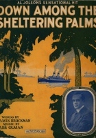 Down Among the Sheltering Palms (1953) plakat