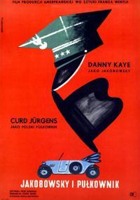 Jakobowsky i pułkownik (1958) plakat
