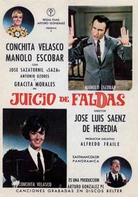 Juicio de faldas (1969) plakat