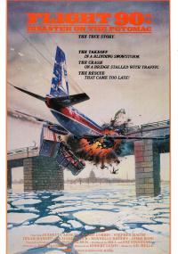 Lot 90: Katastrofa na Potomak (1984) plakat