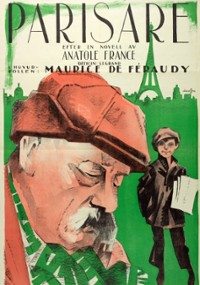 Sprawa Hieronima Crainquebille (1922) plakat