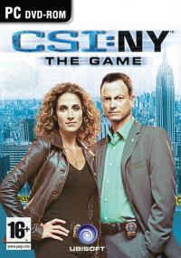 CSI: NY - The Game (2008) plakat