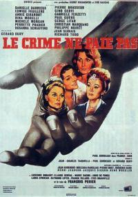 Zbrodnia nie popłaca (1962) plakat