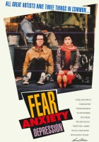 plakat - Fear, Anxiety & Depression (1989)