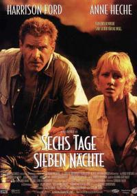 Sześć dni, siedem nocy (1998) plakat