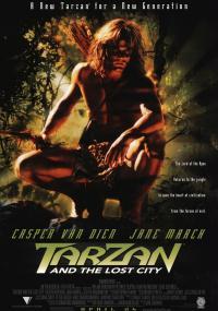Tarzan i Zaginione Miasto (1998) plakat