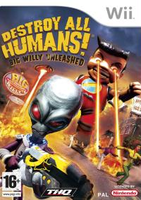 Destroy All Humans! Big Willy Unleashed (2008) plakat