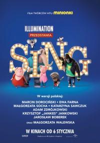 Sing (2016) plakat