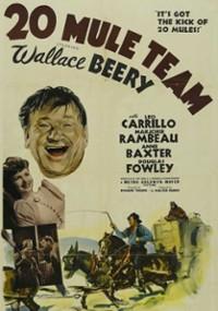 20 Mule Team (1940) plakat