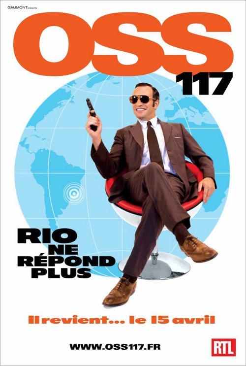 OSS 117 - Rio nie odpowiada