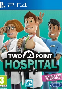 Two Point Hospital (2018) plakat
