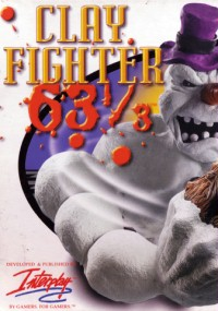 ClayFighter 63⅓ (1997) plakat