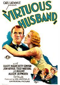 The Virtuous Husband (1931) plakat