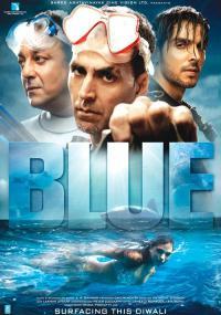 Błękit (2009) plakat