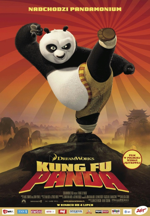 Kung Fu Panda online na Zalukaj