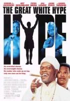 plakat - Wielka biała pięść (1996)