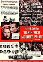 Policja konna Północnego Zachodu (1940) plakat