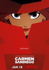 Carmen Sandiego (2019) plakat