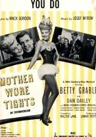 Mama nosiła trykoty (1947) plakat