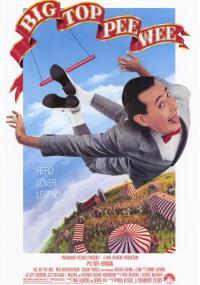 Pee-wee Herman w cyrku (1988) plakat