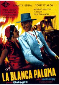 La blanca Paloma (1942) plakat