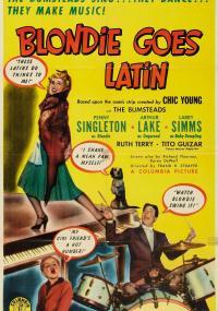 Blondie Goes Latin (1941) plakat