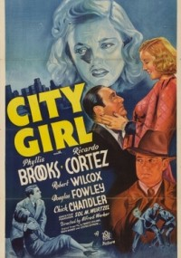 City Girl (1938) plakat