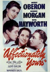 Affectionately Yours (1941) plakat