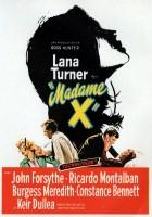 plakat - Madame X (1966)