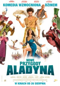 Nowe przygody Aladyna (2015) plakat