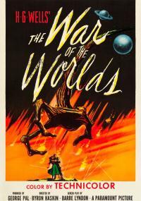 Wojna światów (1953) plakat