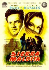 Sierra maldita (1954) plakat