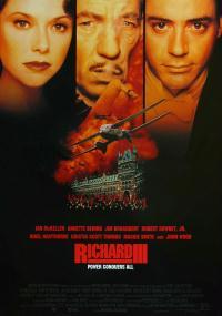 Ryszard III (1995) plakat