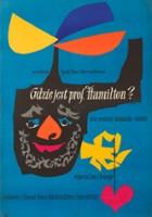 plakat - Gdzie jest profesor Hamilton? (1956)