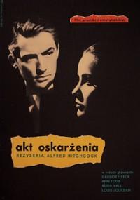 Akt oskarżenia (1947) plakat