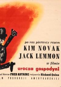 Urocza gospodyni (1962) plakat