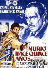 Murió hace quince años (1954) plakat