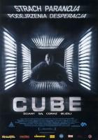 plakat - Cube (1997)