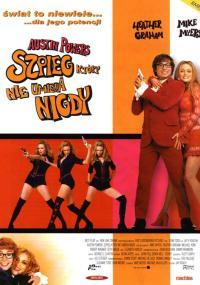 Austin Powers 2 - Szpieg, który nie umiera nigdy (1999) plakat
