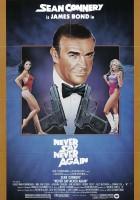 plakat - Nigdy nie mów nigdy (1983)