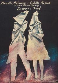 Ginger i Fred (1986) plakat