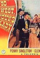 Go West, Young Lady (1941) plakat