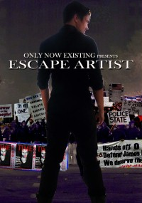 Only Now Existing's Escape Artist (2016) plakat